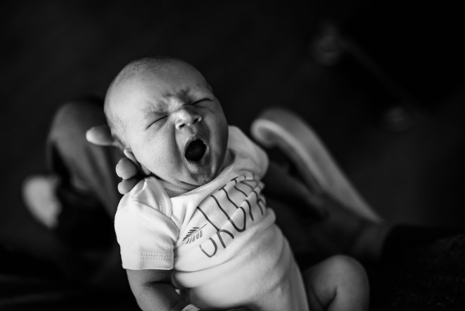 capturing baby